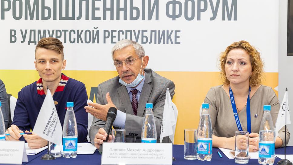 Сергей Пигалев, Михаил Плетнев и Ольга Дегтева