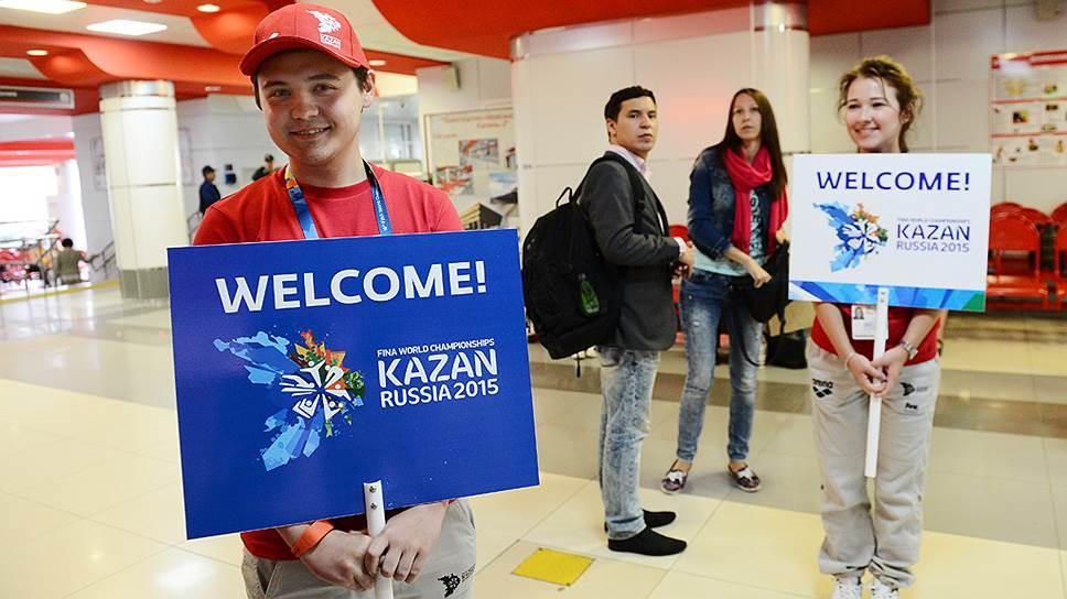 На чемпионат в Казани ждут спортсменов из 190 стран