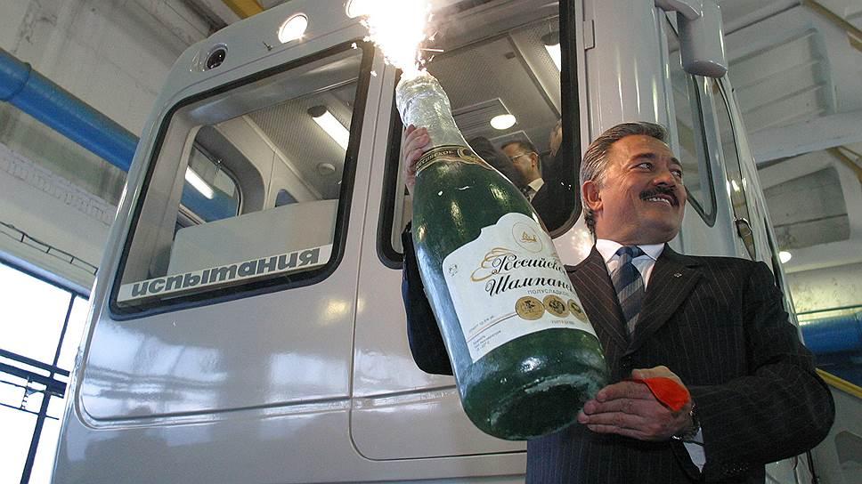 Метро в Казани открыли в 2005 году во время празднования тысячелетия города (на фото прежний мэр города Камиль Исхаков)
