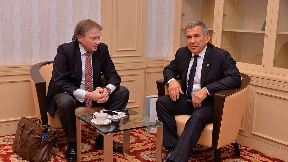 Татарстан берут на «дело» / В республике пытаются возродить отделение «партии предпринимателей»