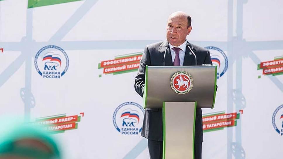 Партправительство / Министры Татарстана поагитируют за «Единую Россию»