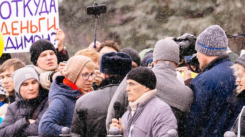 Почему наказана организатор митинга против коррупции