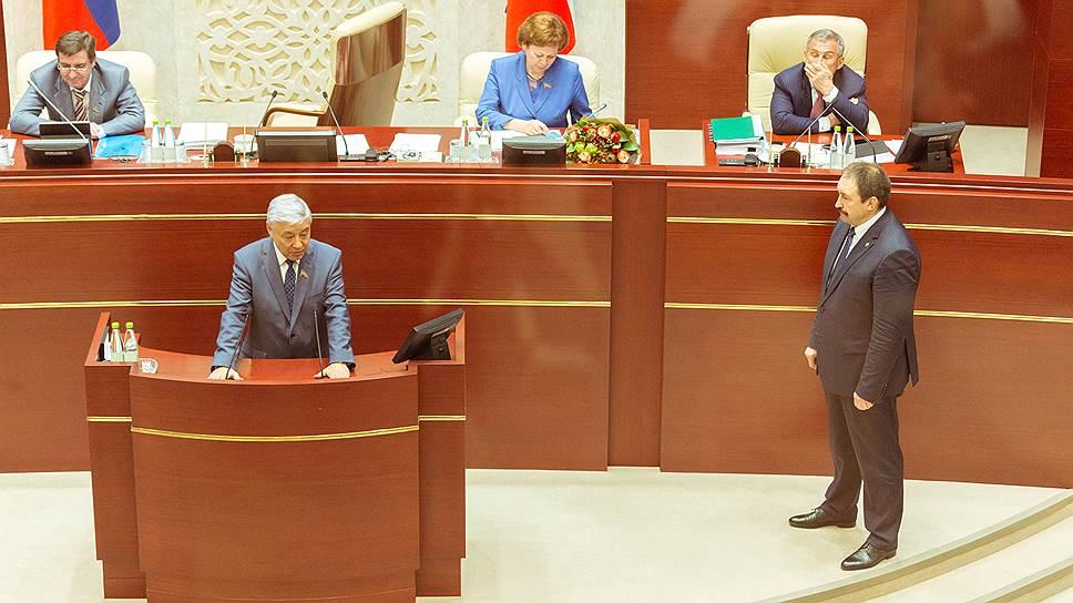 «Лучшего пока не имеем» / Алексея Песошина утвердили на посту премьер-министра Татарстана