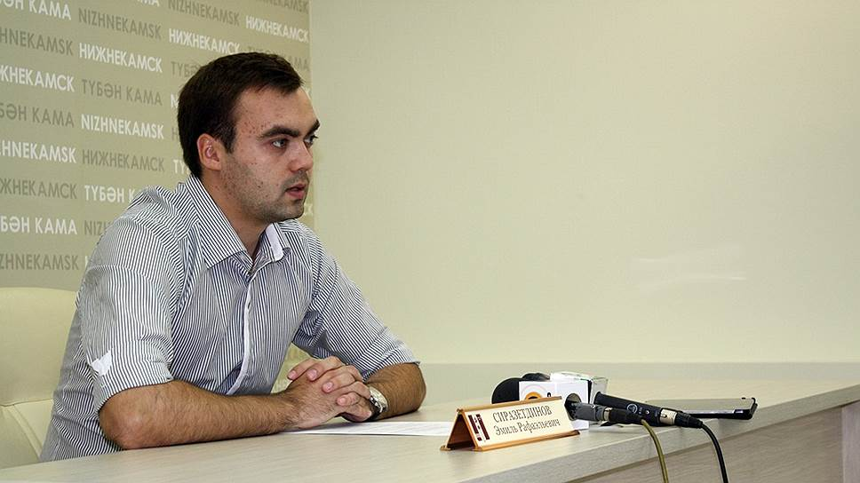 Должность главного архитектора Нижнекамска приносит Эмилю Сиразетдинову весьма скромный доход