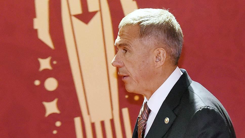 Рустам Минниханов может сохранить должность президента Татарстана до 2020года