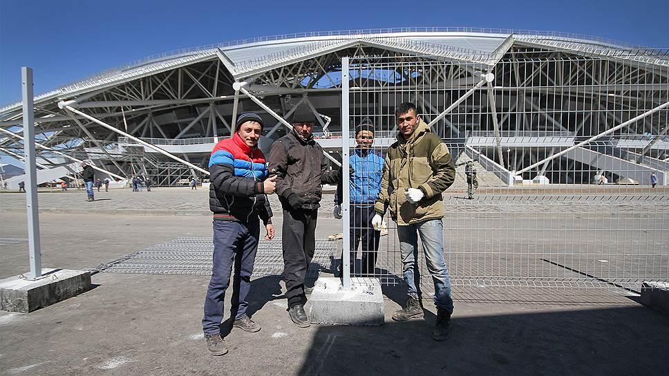 Стадион в Самаре приняли в спешке и с нарушениями