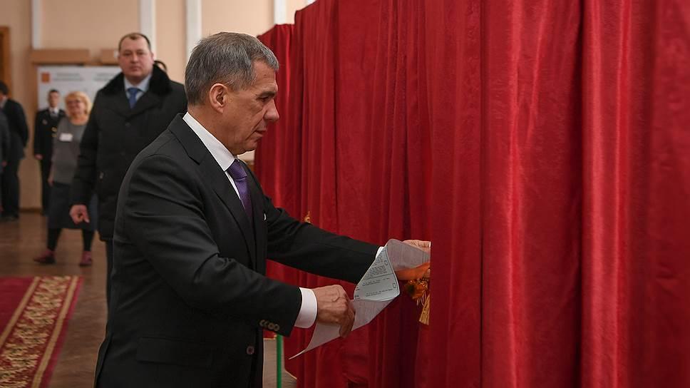 Рустаму Минниханову призвали обеспечить гласность выборов
