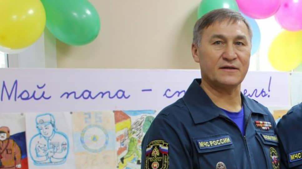 Заместитель министра чрезвычайных ситуаций Татарстана Ильхам Насибуллин