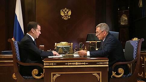 Рустам Минниханов побывал на приеме у Дмитрия Медведева