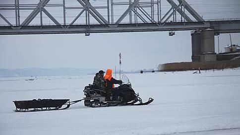 В Татарстане открыли ледовую переправу через Волгу у Зеленодольска