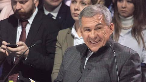 Рустаму Минниханову списали срок  / ЦИК Татарстана подтвердил его право участвовать в выборах президента республики