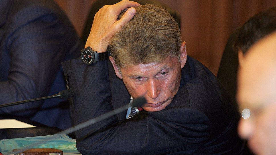 Глава Приамурья Олег Кожемяко не знает, как стимулировать инвесторов, уже работающих на Дальнем Востоке