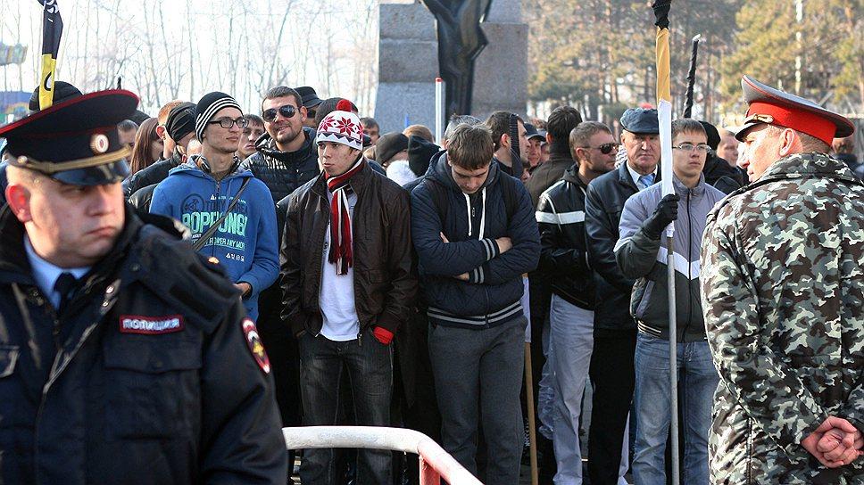 «Русским Хабаровска» разрешили пройти маршем, но не демонстрируя националистическую символику