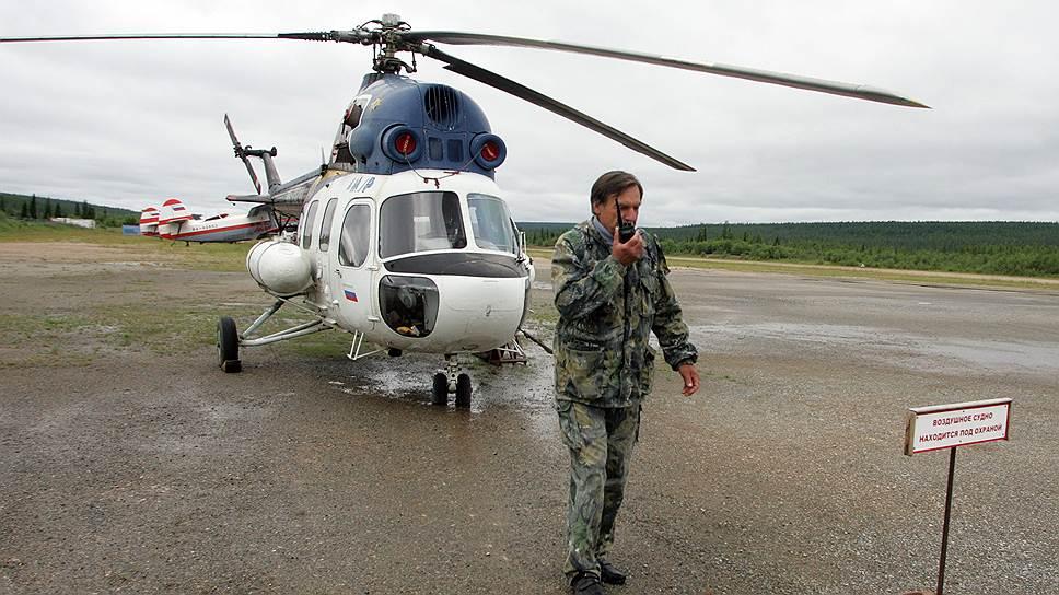 К избирателям полетели вертолеты / Досрочное голосование в северных районах Дальнего Востока стартовало без жалоб