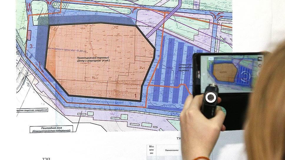 Выделенный под строительство ТЦ с аквапарком участок расширят под парковку