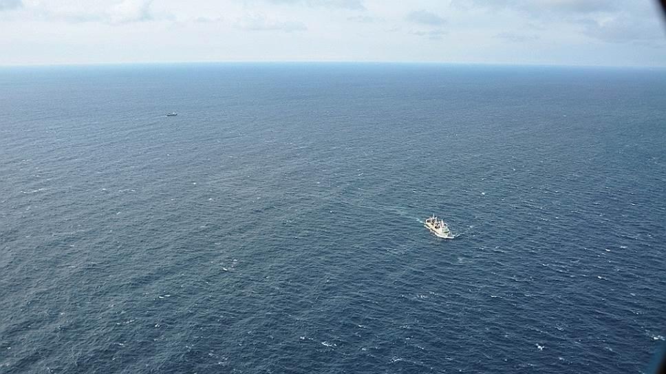 Координаты гибели траулера «Дальний Восток» оказались ближе к магаданскому побережью, чем к сахалинскому