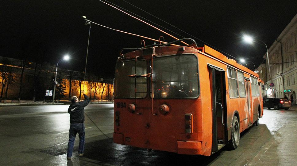 По мнению властей, закупка троллейбусов с автономным ходом позволит оптимизировать работу общественного транспорта
