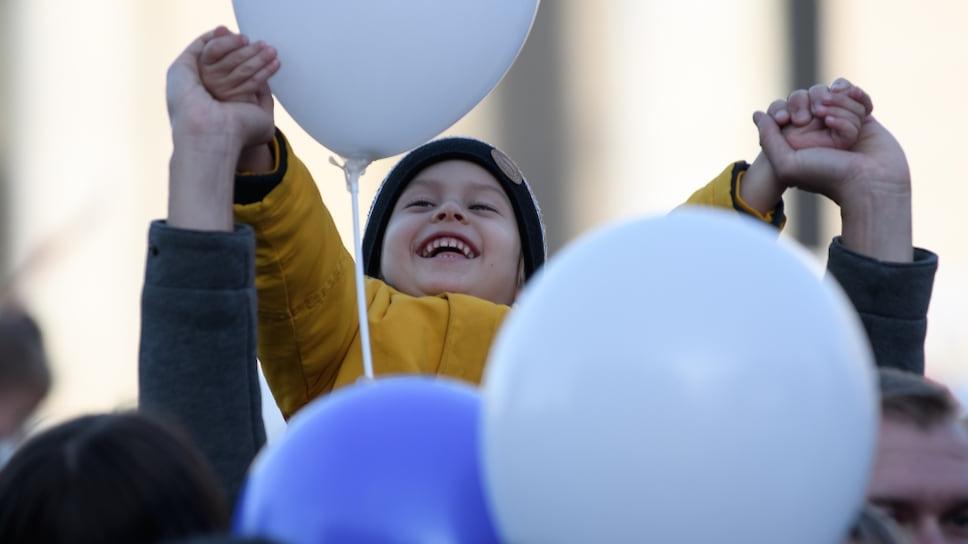 Для всех остальных — Праздничные мероприятия, посвященные Дню народного единства в Краснодаре, прошли на площади Пушкина