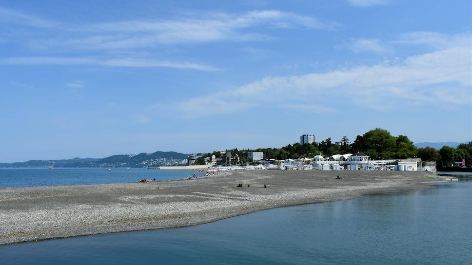 Завершить благоустройство парковой зоны пляжа «Ривьера» планируется к началу следующего сезона