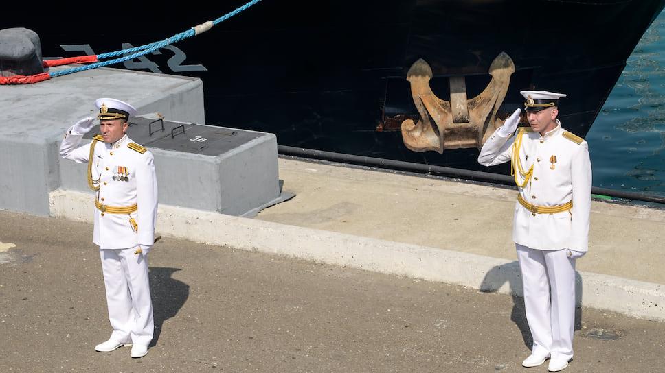 На мероприятии вспоминали роль моряков-черноморцев в обороне Новороссийска от немецко-фашистских захватчиков