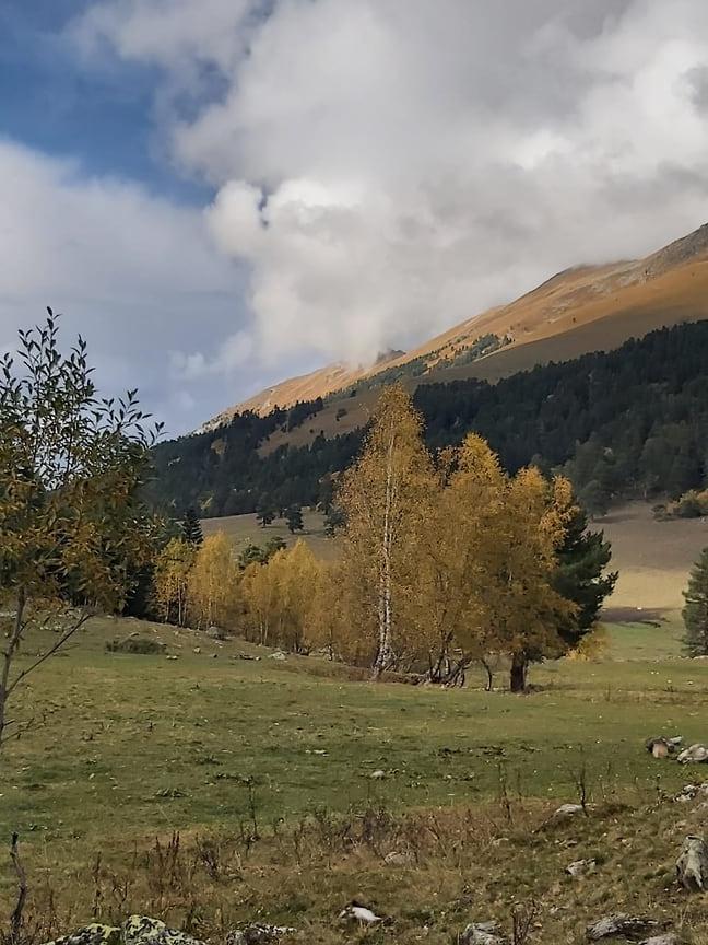 Золотая осень в Архызе