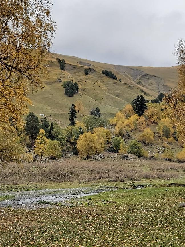 Осень считается самым красивым временем года в Архызе