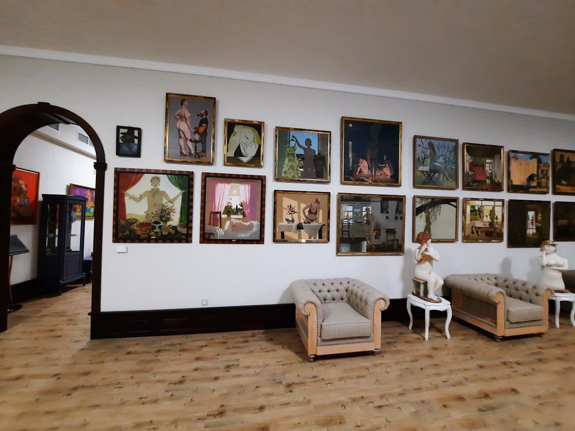 Творчество художников представлено десятками картин, в совокупности позволяющими судить о художественном мире авторов наиболее полно