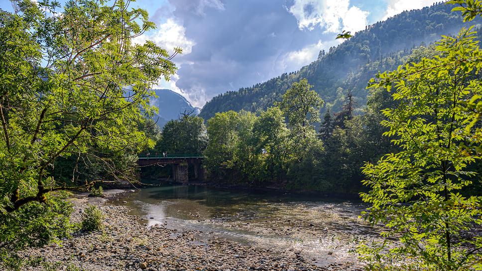 Красоту горного леса можно оценить воочию — здесь растет буковый и пихтовый лес, необычайно красивый в любое время года