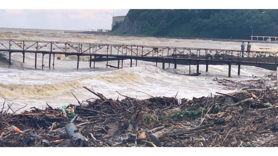 6 июля. Последствия стихии в Архипо-Осиповке