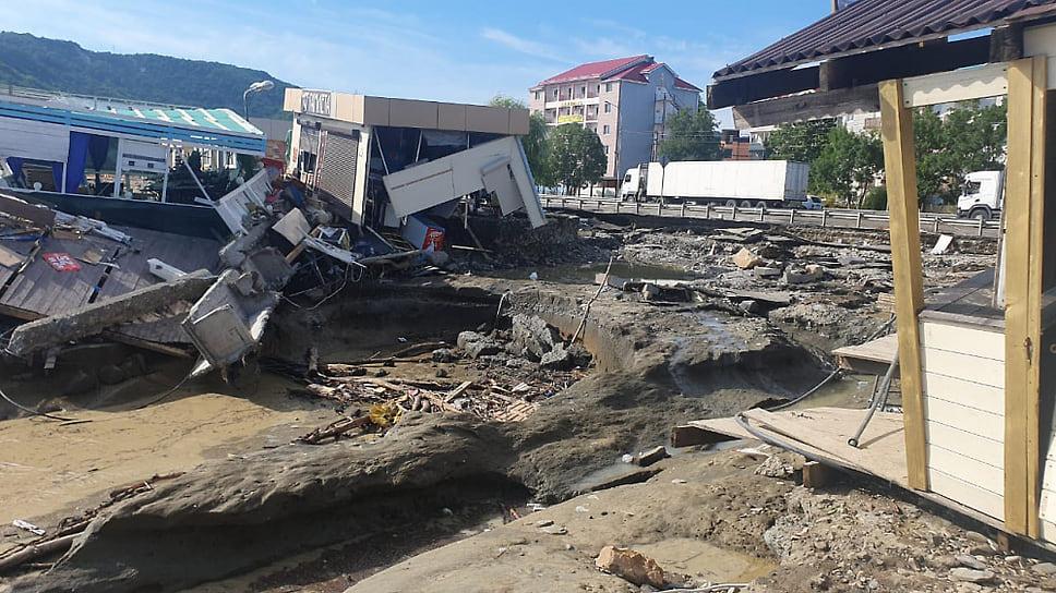 Последствия стихии в Туапсинском районе