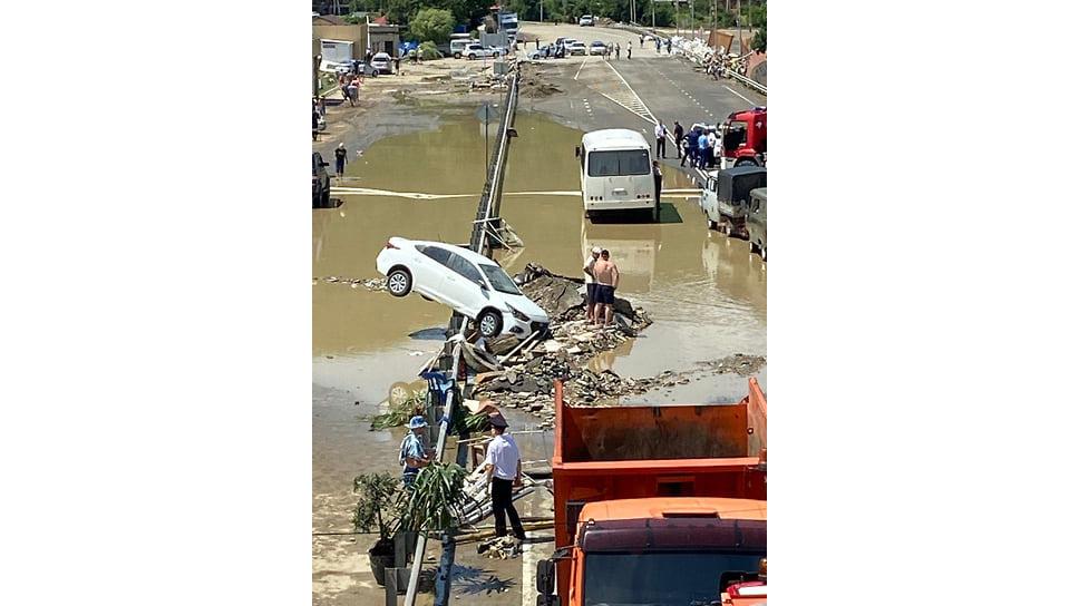 Лермонтово, 6 июля. Сила потока была огромной