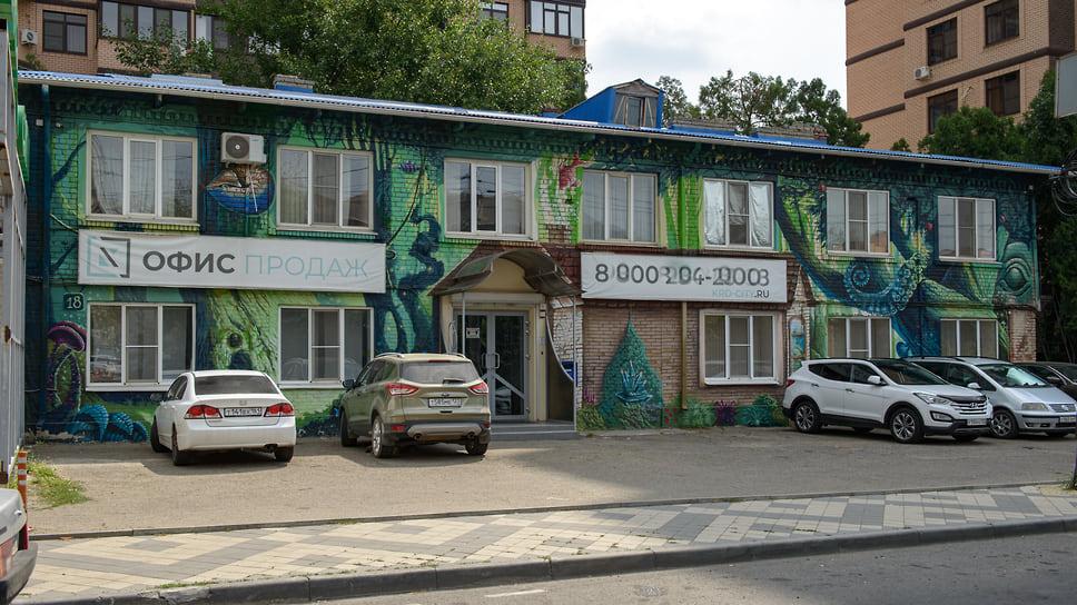 Ул. Шоссе Нефтяников, 18. Офисное здание