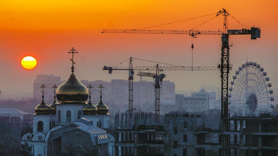 Раннее утро в Краснодаре. Март 2014 года
