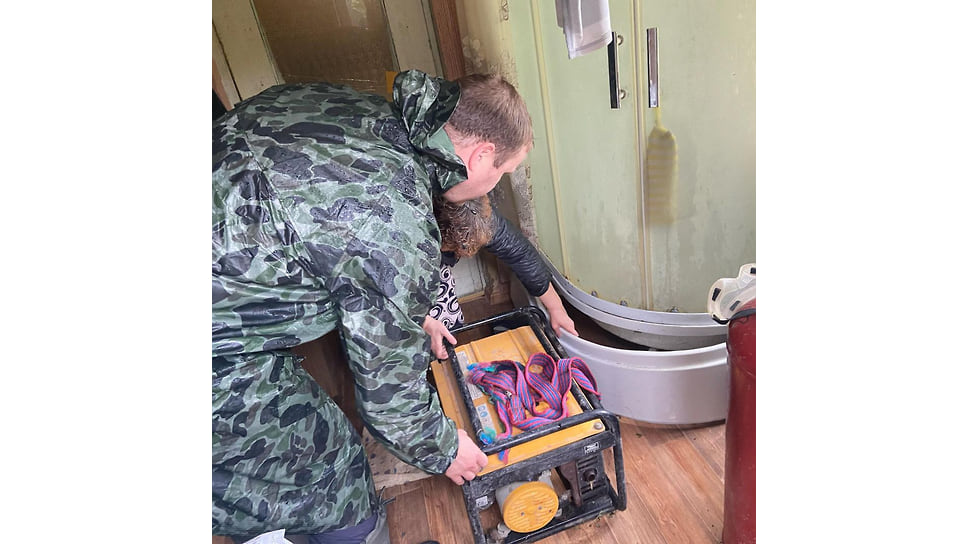 Август 2021 г. Вода зашла в дома жителей Анапского района