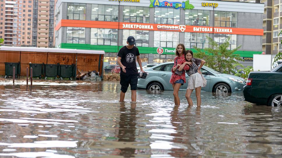 Дети после дождя. Август 2021 года