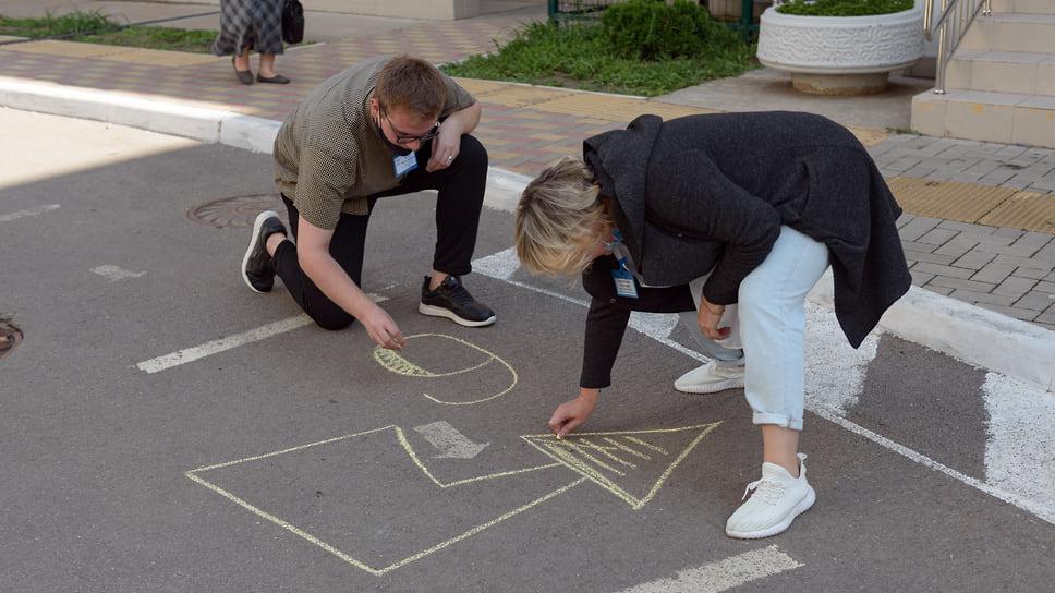 Дополнительная навигация для голосующих не помешает. Школа №104 (ул. Героя Аверкиева, 32). 17 сентября