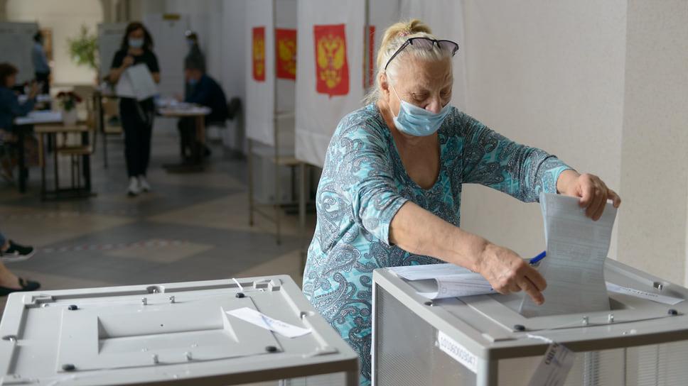 И еще один голос учтен. Екатерининская гимназия №36 (ул. Красноармейская, 52). 19 сентября