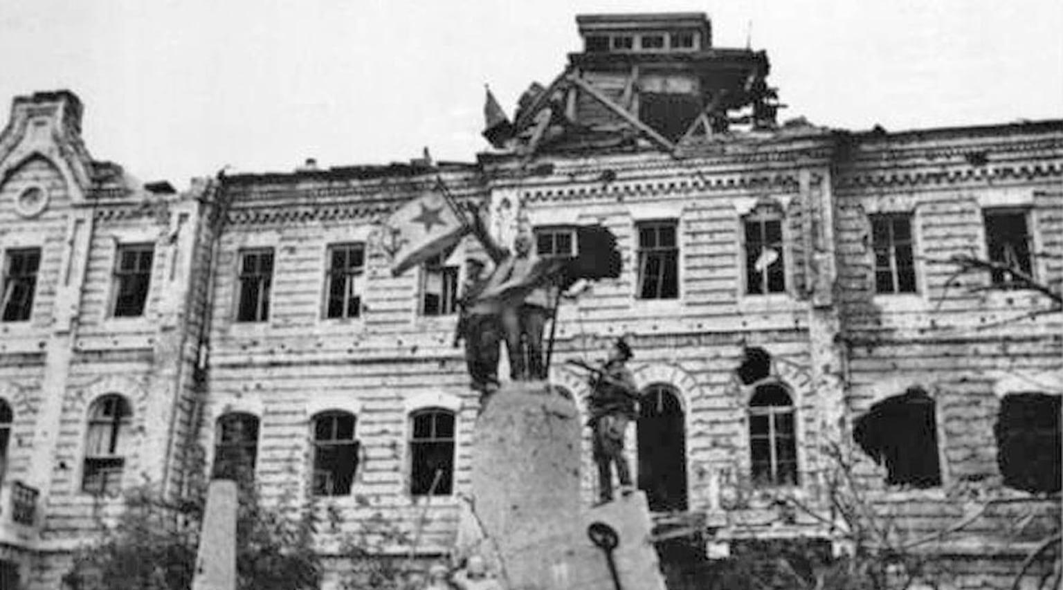 1943. Освобождение Новороссийска от немецко-фашистких захватчиков