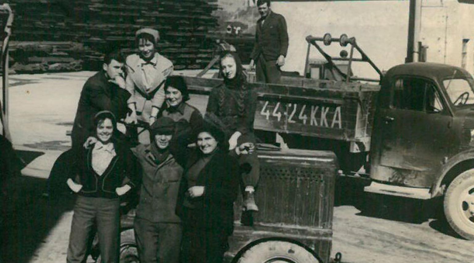 1962. Восточный район порта