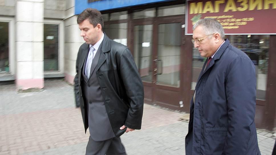 Следствие ведет бывшего главу департамента Росприроднадзора по ПФО Игоря Лолу (справа) к новым эпизодам обвинения