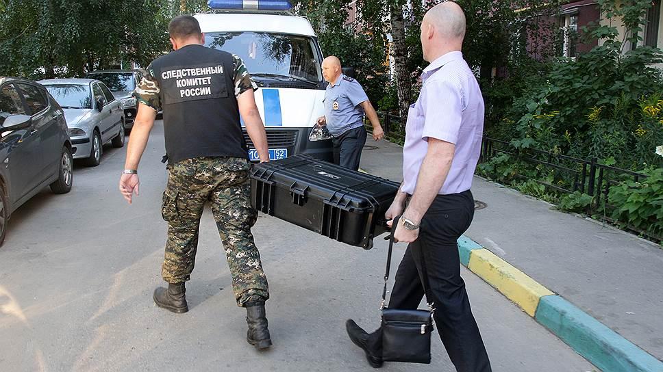 Для расследования массового убийства в Нижний прибыли криминалисты из центрального аппарата СКР