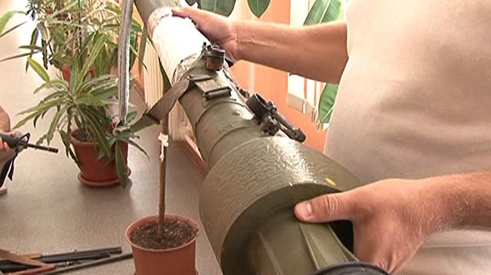 В найденном арсенале среди стаединиц оружия был даже ПЗРК «Игла»