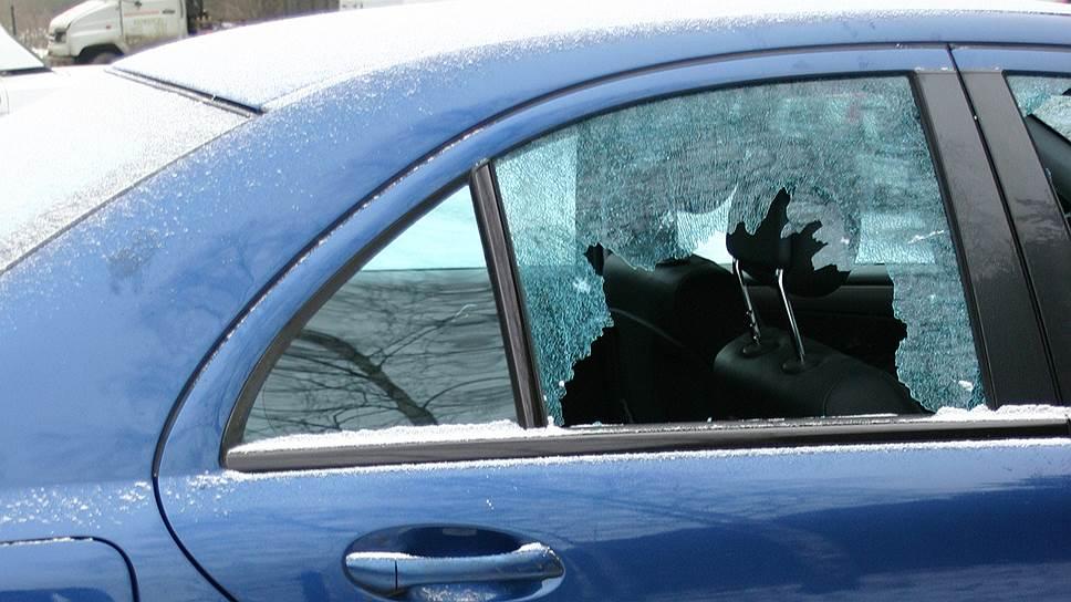 Автомобиль бизнесмена Олега Сорокина был расстрелян в 2003 году