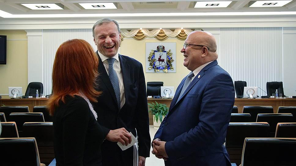 Губернатор Валерий Шанцев решил облегчить работу своим заместителям