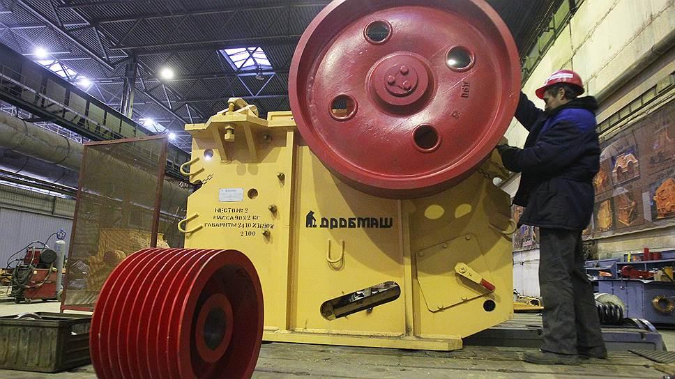 «Дробмаш» организовывает производство мини-роторных эскваторов и земснарядов