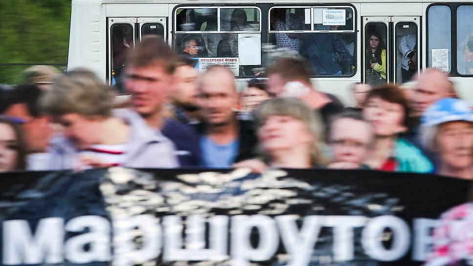 «Вектор» на маршрутки / Нижегородские перевозчики обжалуют конкурсы администрации города