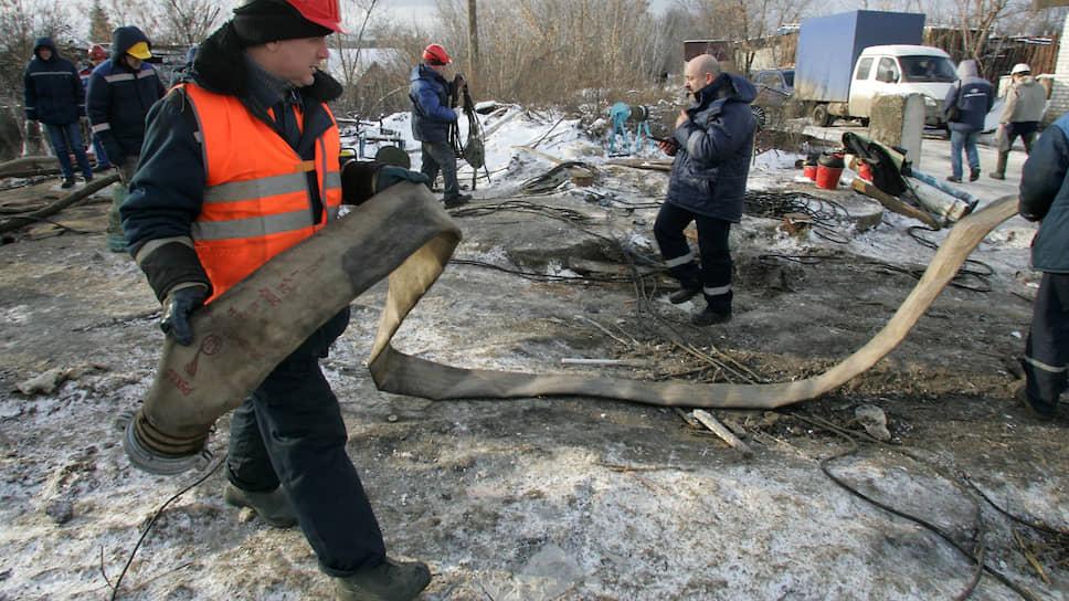 Системный прорыв / Крупнейший район Нижнего Новгорода около суток оставался безводы из-за аварии на коллекторе
