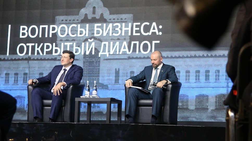 В условиях падения экономики губернатору Глебу Никитину придется активно отвечать на вопросы бизнеса