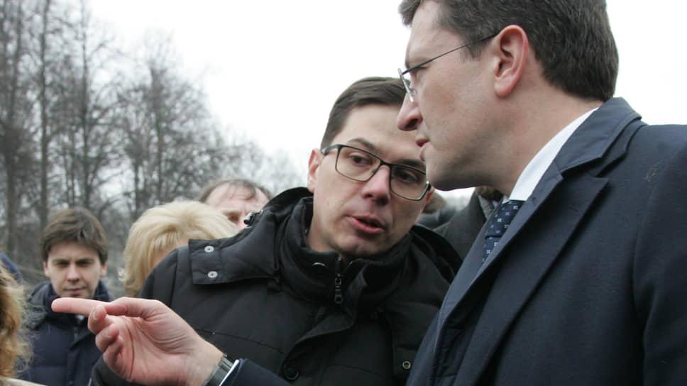 Губернатор Глеб Никитин (справа) направил Юрия Шалабаева  руководить городской администрацией