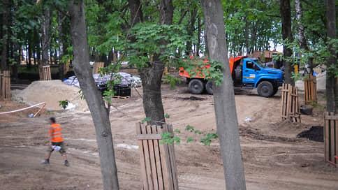 «Швейцарию» готовят к выпускному  / Подрядчик обещает открыть благоустроенный парк к 800-летию Нижнего Новгорода